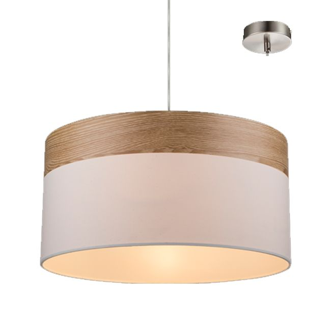 Globo Lighting Pendelleuchte Chipsy E27 H 120 cm