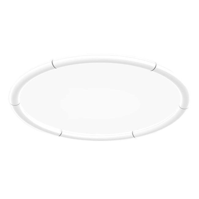 Artemide Alphabet of Light Circular Applique/Deckenleuchte LED 91W Ø 155 cm Dimmbare