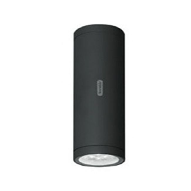 Artemide Outdoor Calumet 13 Wandleuchte LED 7,5W Ø13 cm IP65 Monoemission Anthrazit