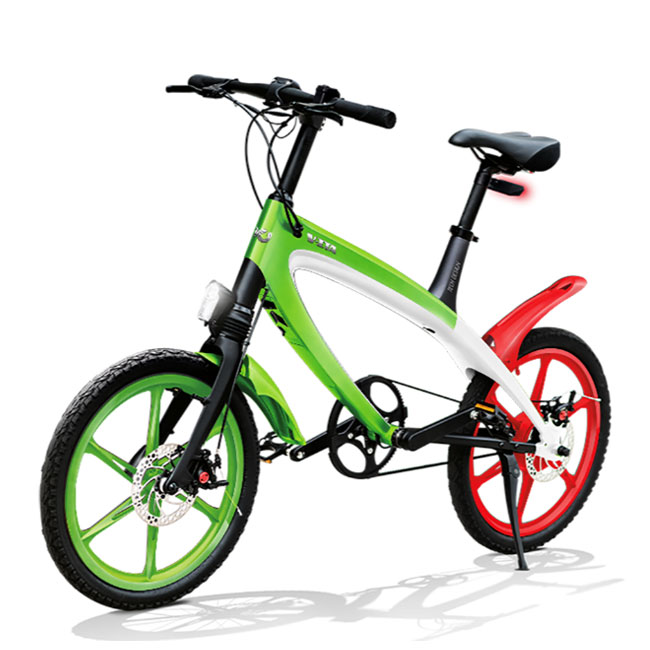 E-City Bike V-ITA Iconic Italy Materpieces Full mit Bluetooth-Technologie
