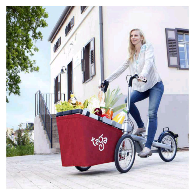 City Bike Taga 1.0 mit Korb