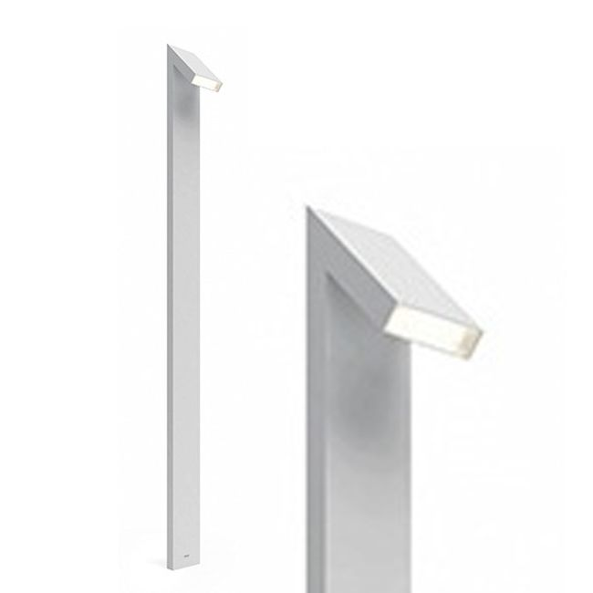 Artemide Outdoor Chilone Stehleuchte 250 LED 15W H 250 cm IP65 Grau/Weiss