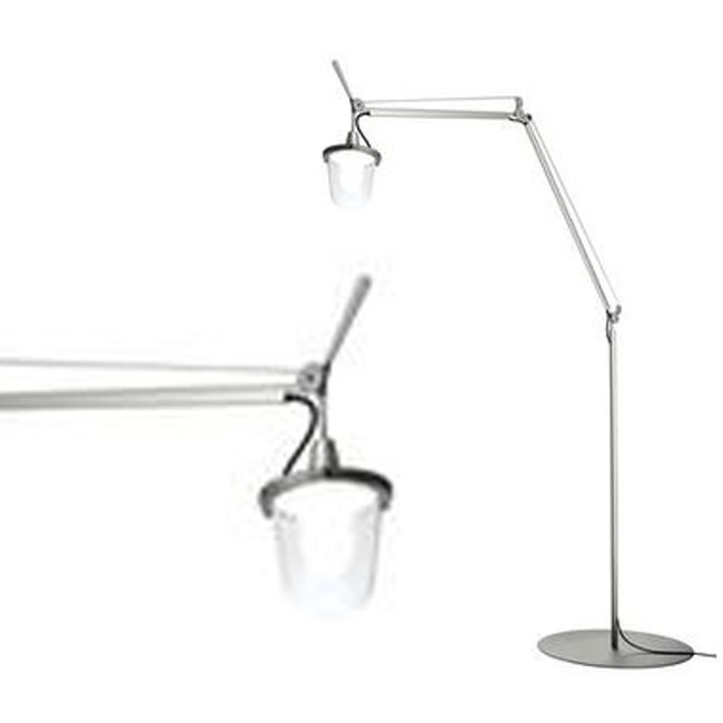 Artemide Outdoor Stehleuchte Tolomeo Lampione LED 20W H 232 cm IP44