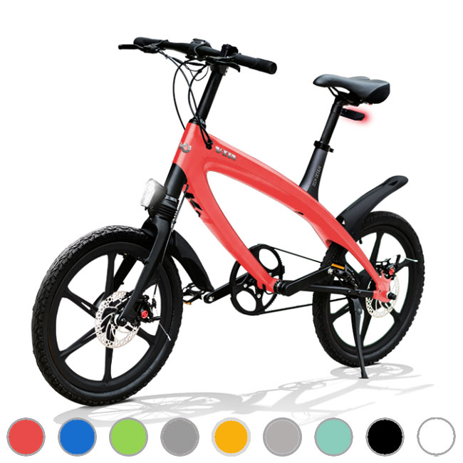 E-City Bike V-ITA Evolution Solid mit Bluetooth-Technologie