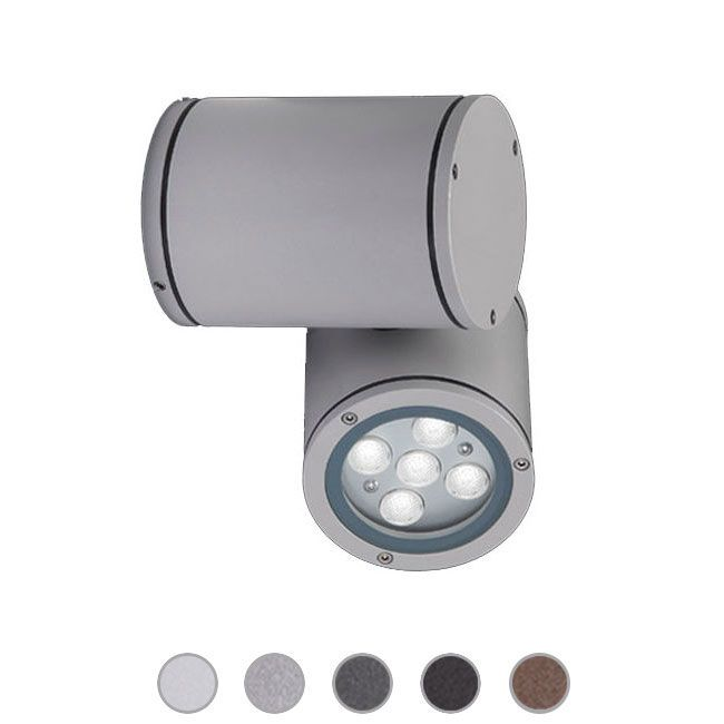 Ares Outdoor-Projektor Pan LED IP66 L 22,6 cm