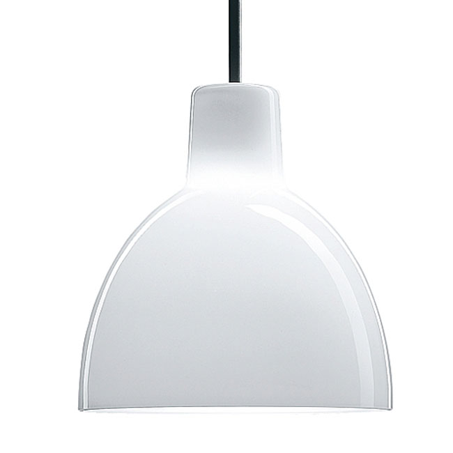 Louis Poulsen Suspension Toldbod 155/220 1 Licht G9 in Glas
