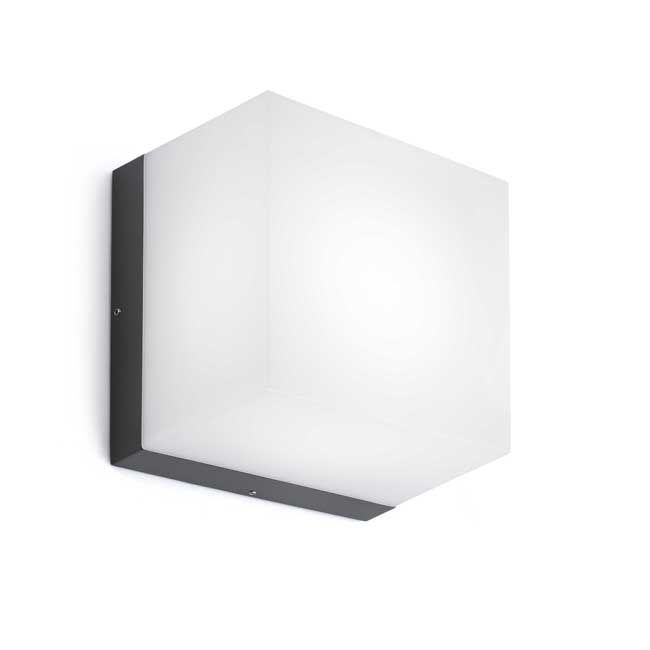 Faro Barcelona Outdoor Wandleucht NAOMI LED 6W H 20,5 cm IP54