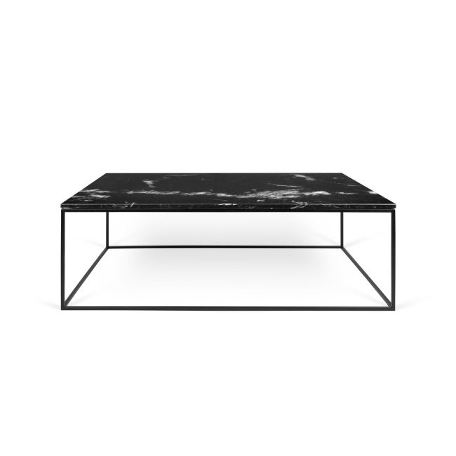 TEMAHOME Couchtisch  Gleam 120 Marmo Marquina L 120cm