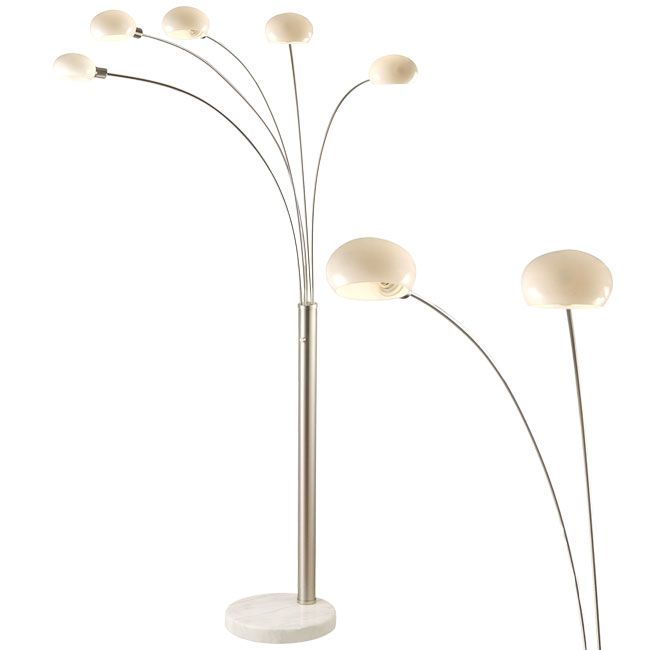 Globo Lighting Stehleuchte Classic Style E14 H 215 cm 5 lichter Dimmbar