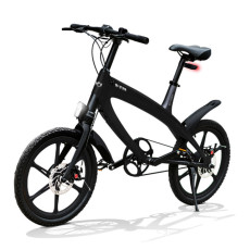 E-City Bike V-ITA Evolution Solid mit Bluetooth-Black-Technologie