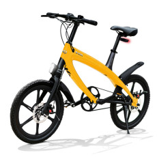 E-City Bike V-ITA Evolution Solid mit Bluetooth-Yellow-Technologie