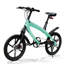 E-City Fahrrad V-ITA Evolution Solid mit Bluetooth-Aquamarine-Technologie