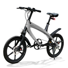 E-City Bike V-ITA Evolution Solid mit Bluetooth-Dark Grey-Technologie