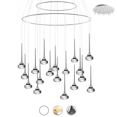 Axo Light Pendelleuchte Fairy LED 18 Luci 6,8W Ø 60 cm