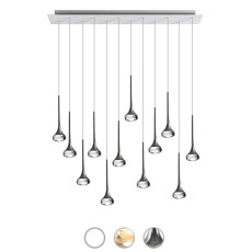 Axo Light Pendelleuchte Fairy LED 12 Luci 6,8W H 250 cm