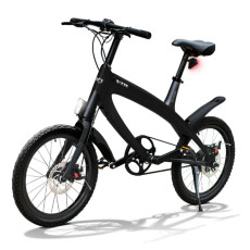E-City Bike V-ITA Smart Solid mit USB-Black Eingang