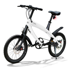 E-City Bike V-ITA Smart Solid mit USB-White Eingang