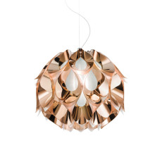 Slamp Flora Suspension Medium L50 42W cm FLUO-Kupfer