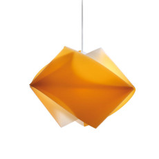 Slamp Aussetzung Gemmy Orange 1 Licht E27 L 42 cm