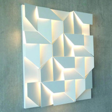 Nemo Wall Shadows grand Wandleuchten LED 55W L 90 cm