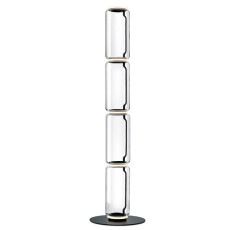 Flos Stehleuchte Noctambule 4 High Cylinders Big Base H Modul 53 cm LED 45 B H 217 cm