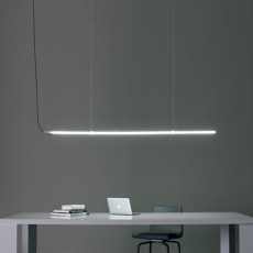 Antonangeli hängelampe Archetto Shaped-C7 LED 50W L 180 cm