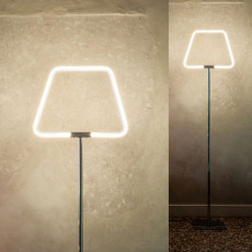 Antonangeli Stehlampe Archetto Shaped LED RGB 23W H 170 cm