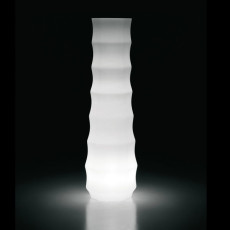 Plust vase lumineux Drop Light H 73 cm Outdoor