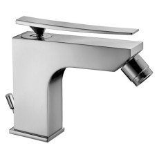 Paffoni Elys Bidet Mixer Komplett ohne Pop Up Waste Chrome / Tattoo