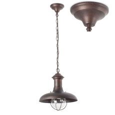 Faro Outdoor Pendelleuchte Estoril-G 1 licht E27 Ø 32 cm