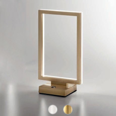 Fabas Tischleuchte Bard LED 15W 30x17 cm Dimmbare