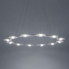Lumen Center FLAT RING 12 Pendelleuchte LED 78W  Ø 98 cm Dimbar