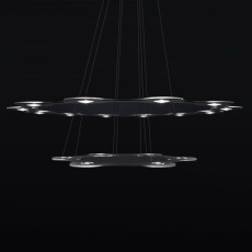 Lumen Center FLAT SATURN 2 Pendelleuchte LED 113,4W Ø 98 cm