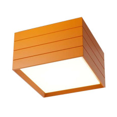 Artemide Groupage 32 Deckenleuchte LED 23W H 20 cm Orange