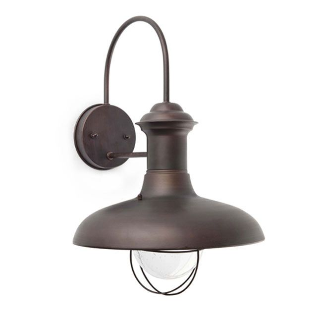 Faro Outdoor Wandleuchte Estoril-g 1 licht E27 Ø 31 cm