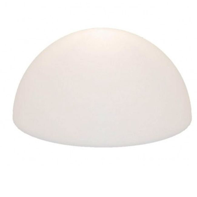 Slide Stehleuchte 1/2 Globo OUT 1 luce E27 fluo IP55