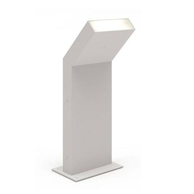Artemide Outdoor Chilone Up Stehleuchte LED 15W H 41 cm IP65 Grau/Weiss